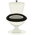cartoon toilets vector image