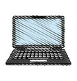 laptop icon image vector image