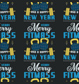 merry fitmass seamless pattern graphic print vector image