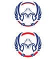sport mascot vector image vector image