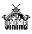 vikingi helmet 0007 vector image vector image