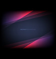 abstract template pink triangle overlapping vector image vector image