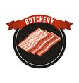 butchery house vector image