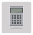 flat icon calculator vector image vector image