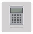 flat icon calculator vector image