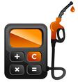 Fuel calc vector image vector image