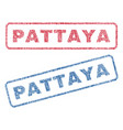 Pattaya textile stamps