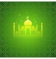 Ramadan greetings background Ramadan Kareem vector image vector image