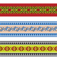 seamless slavic pattern vector image