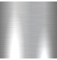 Shiny brushed metal texture vector image vector image