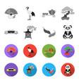 sushi koi fish japanese lantern pandajapan set vector image vector image