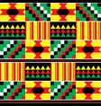 tribal kente mud cloth seamless pattern vector image vector image
