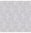 vintage seamless floral pattern grey vector image vector image