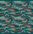military camouflage seamless pattern three colors vector image