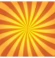 Colorful background with rays vector image