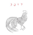 2017 color book calendar cover vector image vector image