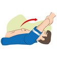 cardiopulmonary resuscitation cpr sylvester vector image vector image