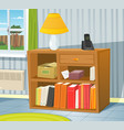 home interior vector image