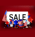 independence day usa 4th july sale vector image