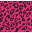 Leopard skin print pattern Seamless animal fur vector image vector image