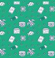 pets shop set icons pattern vector image vector image