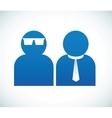 Social relationship vector image vector image