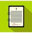 Testament letter flat icon