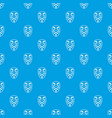 vendetta mask pattern seamless blue vector image vector image