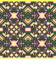 yellow and green seamless pattern vector image vector image