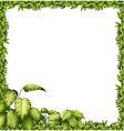 A green frame vector image vector image