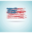 Abstract Flag of US vector image