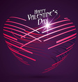 abstract heart-shaped patternvalentines day