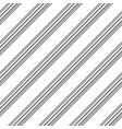 black white diagonal lines seamless pattern vector image vector image
