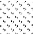 fox step pattern seamless vector image vector image