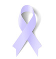 Lavender ribbon vector image vector image