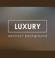 luxury dark blurry background empty template vector image vector image