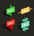 sale advertising banner layout special offer vector image vector image