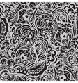 Seamless abstract hand-drawn pattern vector image vector image