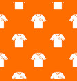 soccer shirt pattern seamless vector image vector image