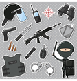 Special Police Officer vector image