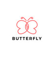 butterfly dna logo icon vector image vector image