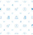 disc icons pattern seamless white background vector image vector image