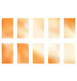 gold blurred gradient style background abstract vector image vector image