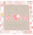 happy mothers day poste vector image