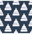 same sex wedding cake seamless pattern vector image vector image