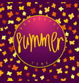 summer wonderful time vector image vector image