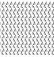 white geometric seamless pattern of triangles vector image vector image