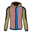 winter jacket accessory fashion coat sport vector image