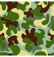 Camouflage seamless patternWoodland style vector image vector image
