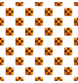 chess biscuit pattern seamless vector image vector image